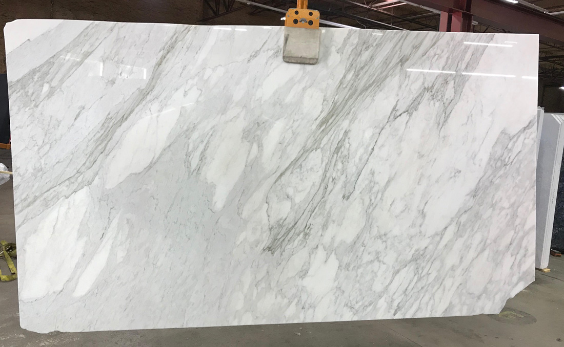 Italian White Slabs Calacatta Gold Marble Slabs with Top Quality