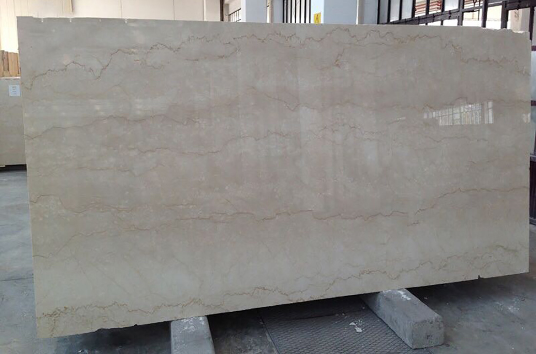 Italy Botticino Beige Semi Classico Marble Slabs