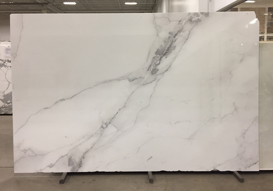 Italy Calacatta Executive White Marble Slabs for Vanity Tops