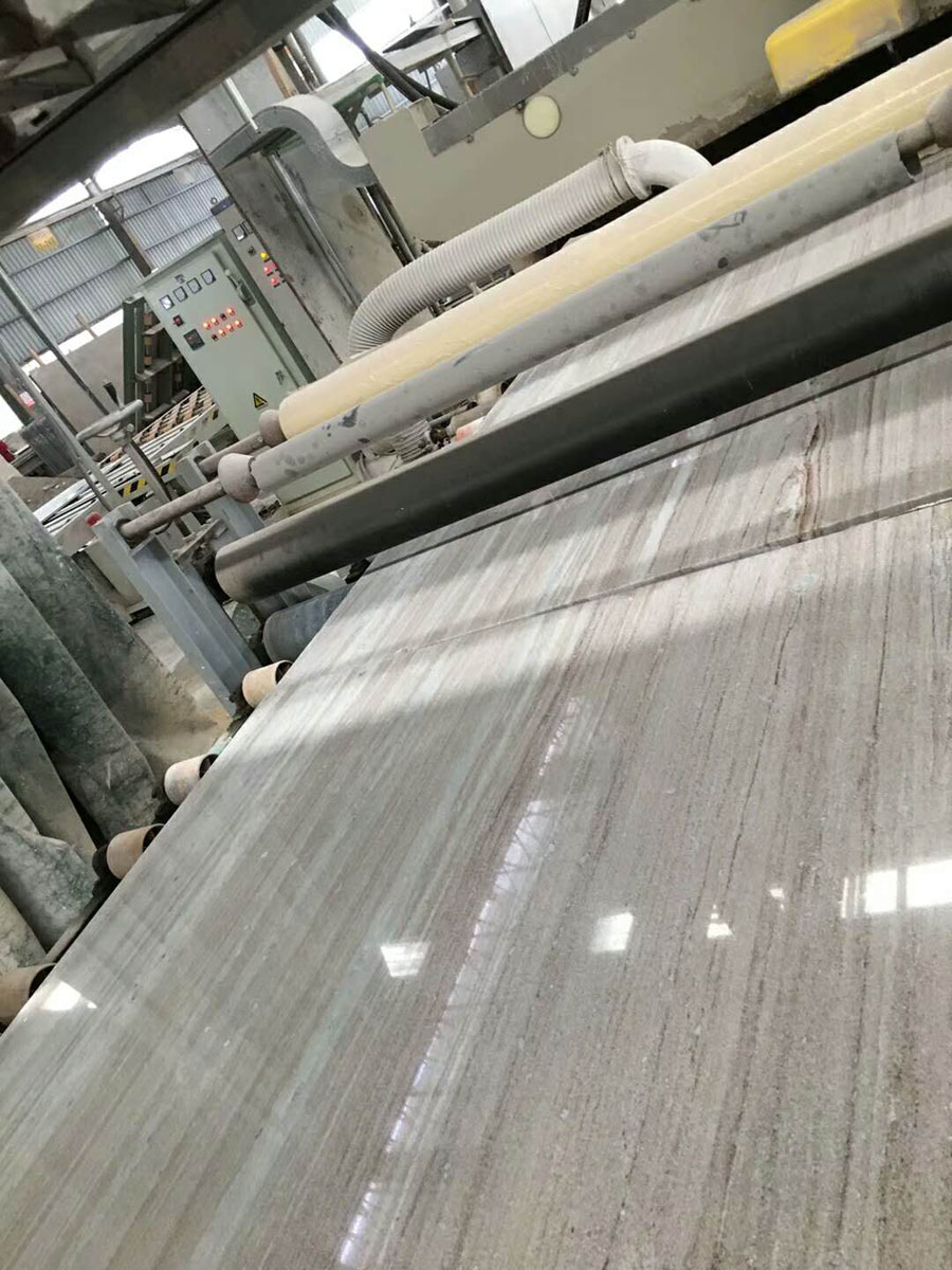 Italy Grey Marble White Sands Marble Slabs