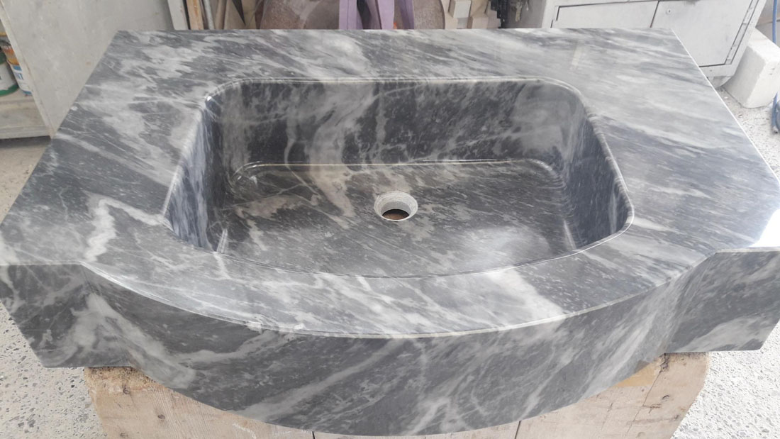 Italy High Quality Massive Marble Sink