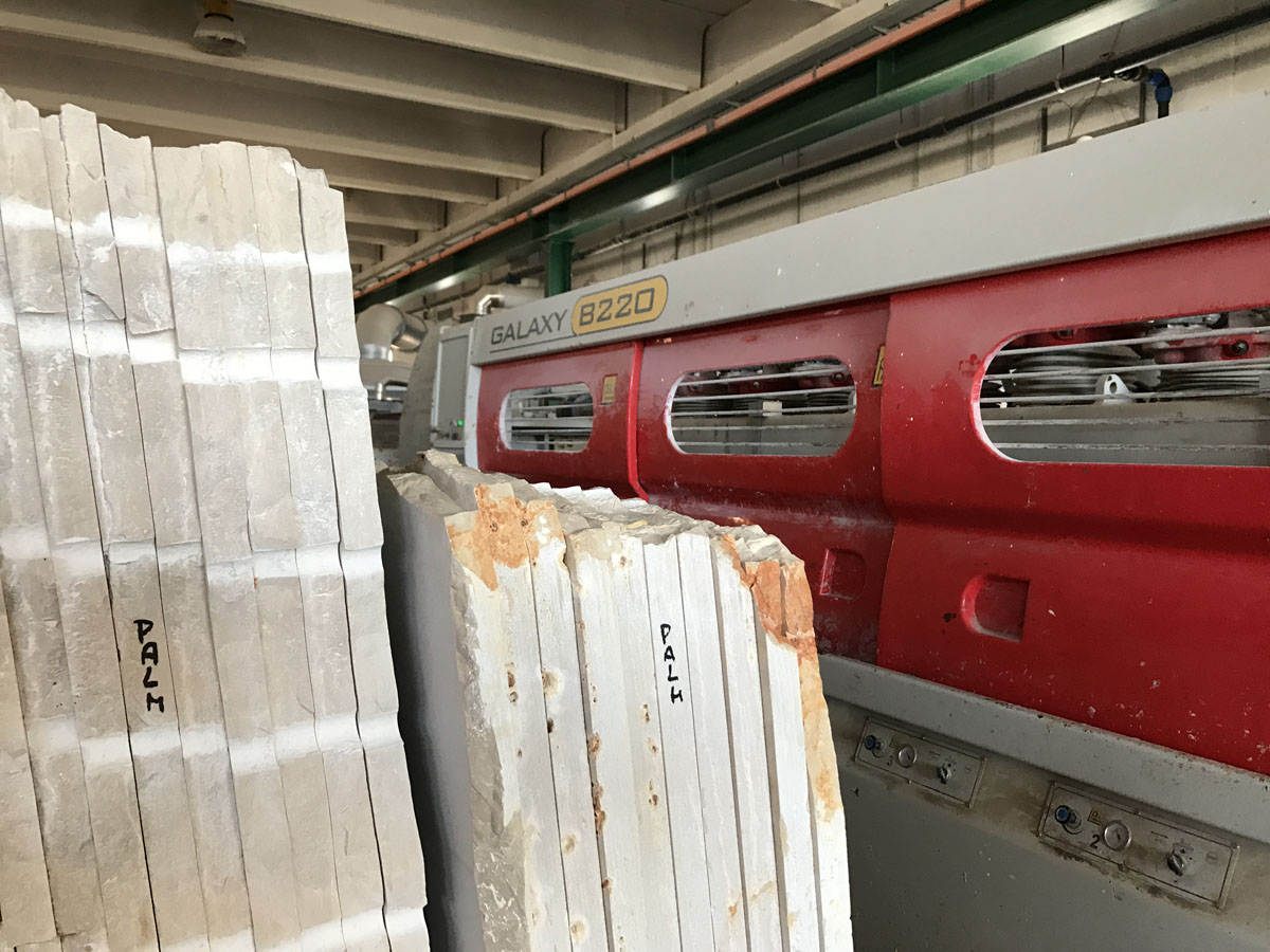 Italy Marble Gangsaw Slabs