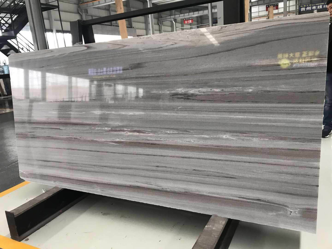 Italy Palissandro Blue Marble Slabs Polished Blue Marble Slabs