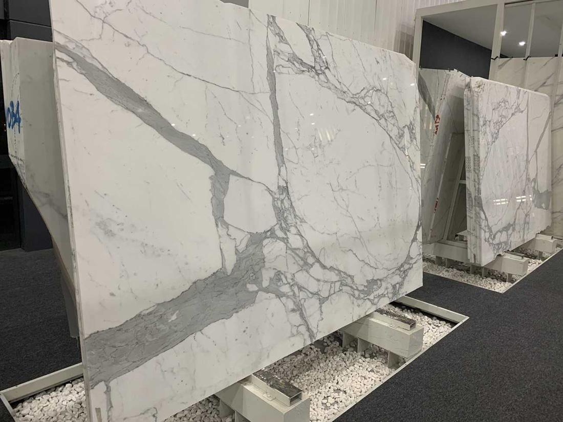 Italy Snow White Snow Fake White Statuario Marble for Wall Decoration