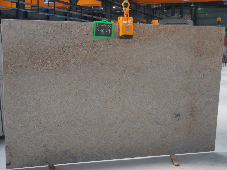 Ivory Pearl Granite Slabs Indian Pink Granite Slabs