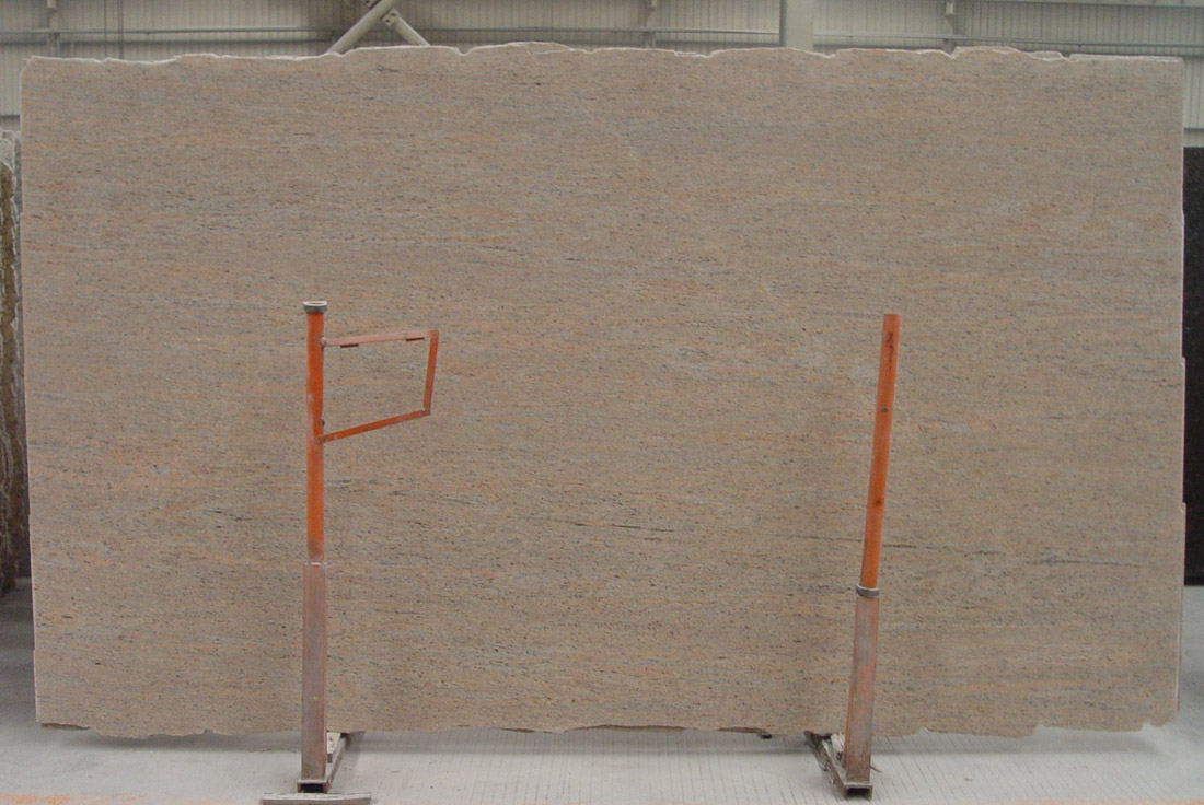 Ivory Silk Granite Slab Pink Granite Slabs