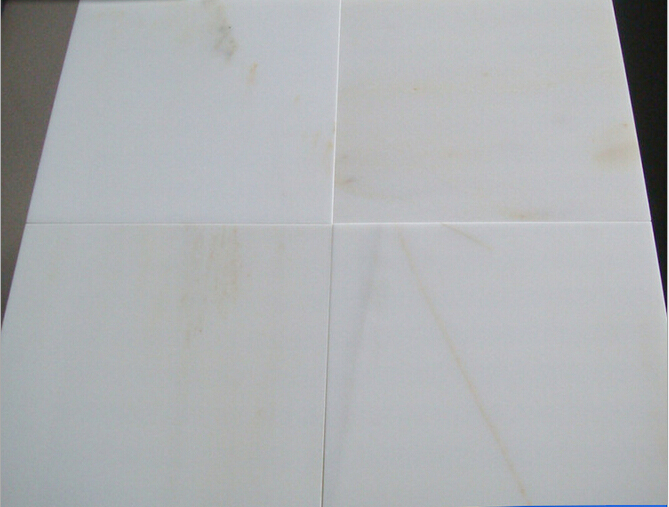 Jade Marble Tiles Polished White Marble Tiles