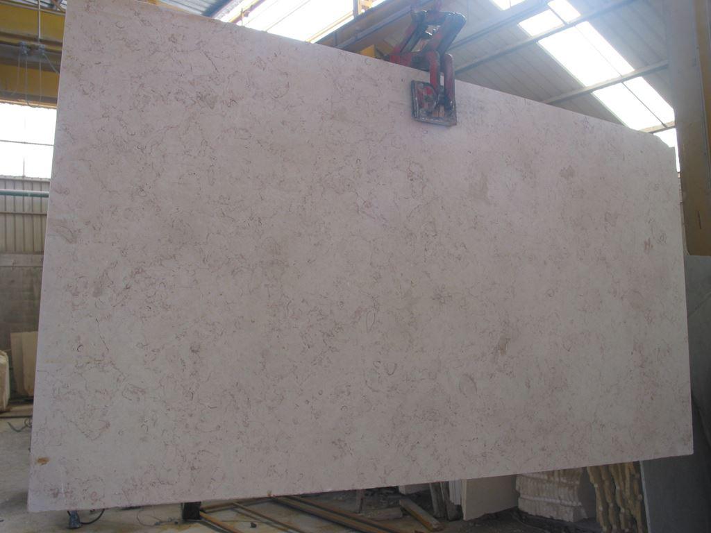 Jerusalem Beige Limestone Slabs Honed Limestone Slabs