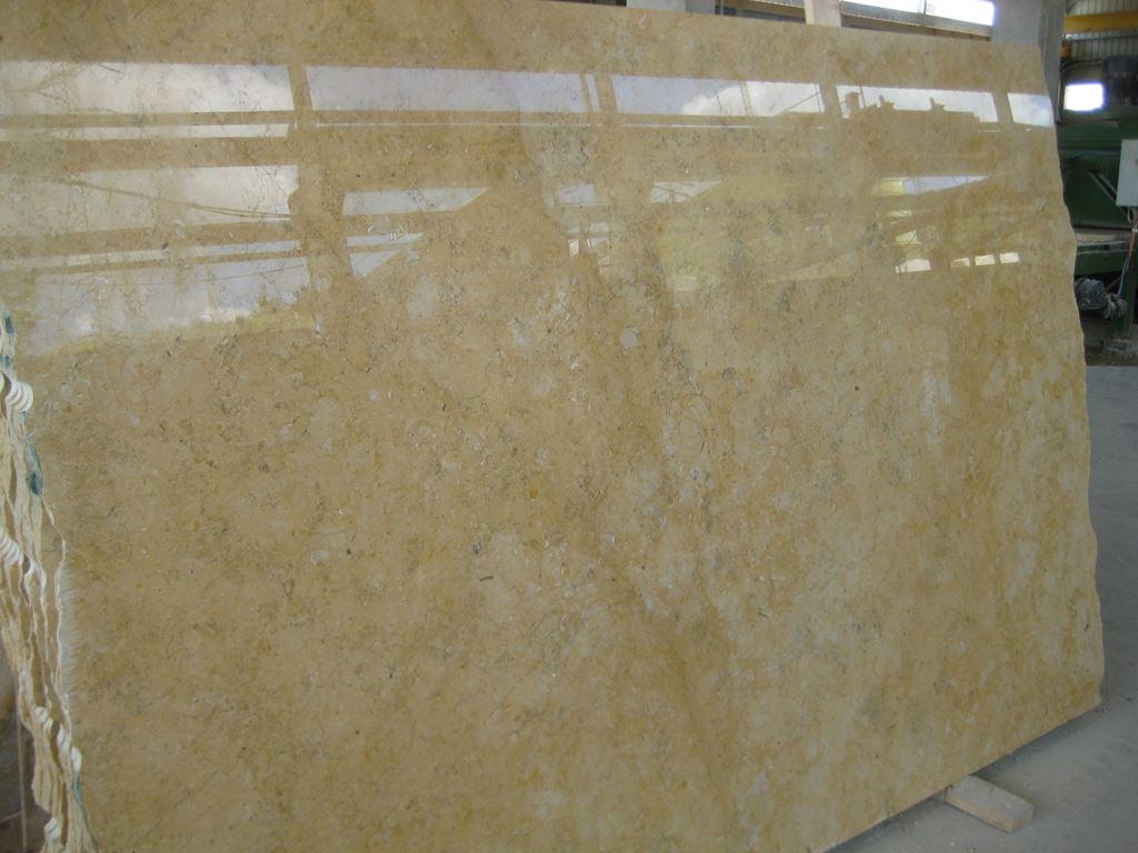 Jerusalem Gold Dark Veins Polished Limestone Slabs