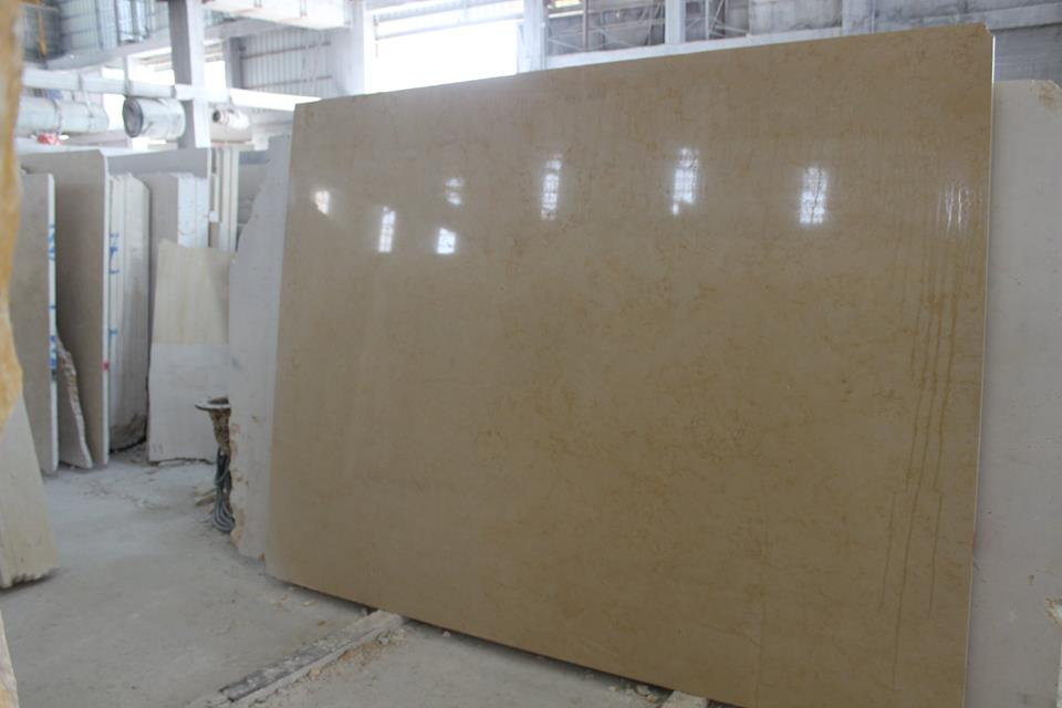 Jerusalem Gold Polished Limestone Slabs