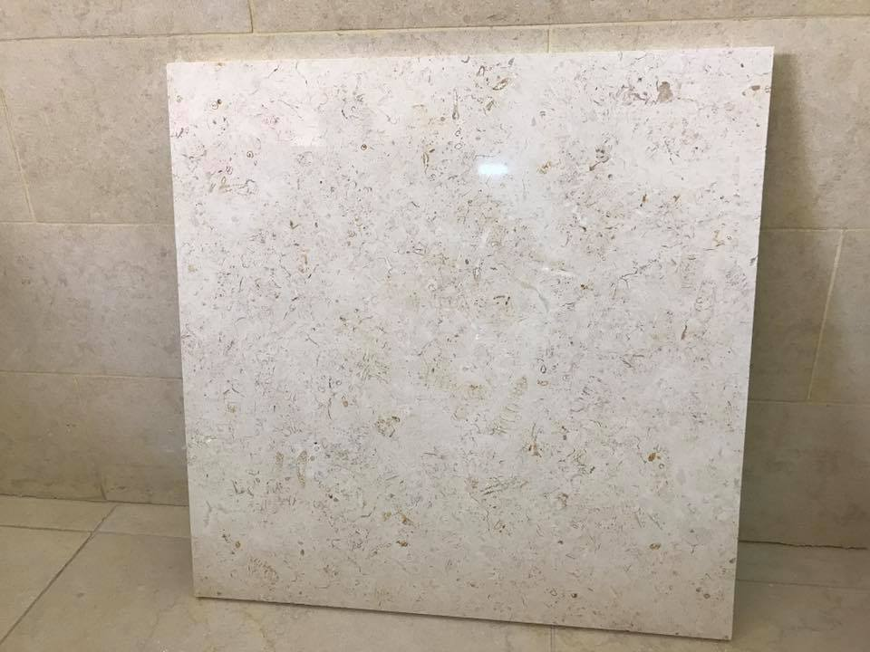 Jerusalem White Limestone Tiles for Flooring