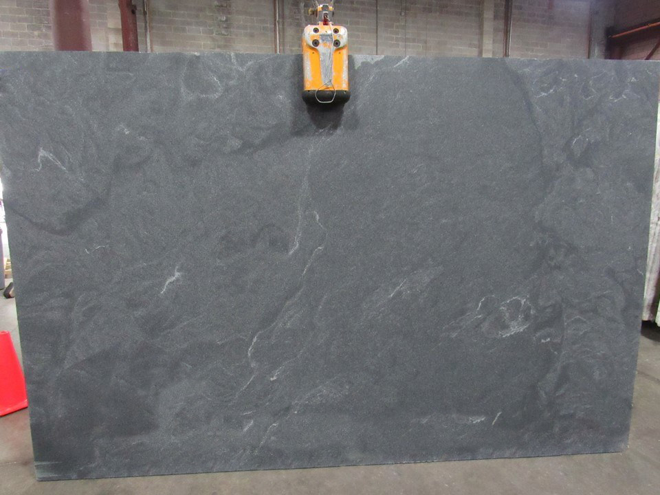 Jet Mist Granite Grey Granite Slabs Honed Slabs