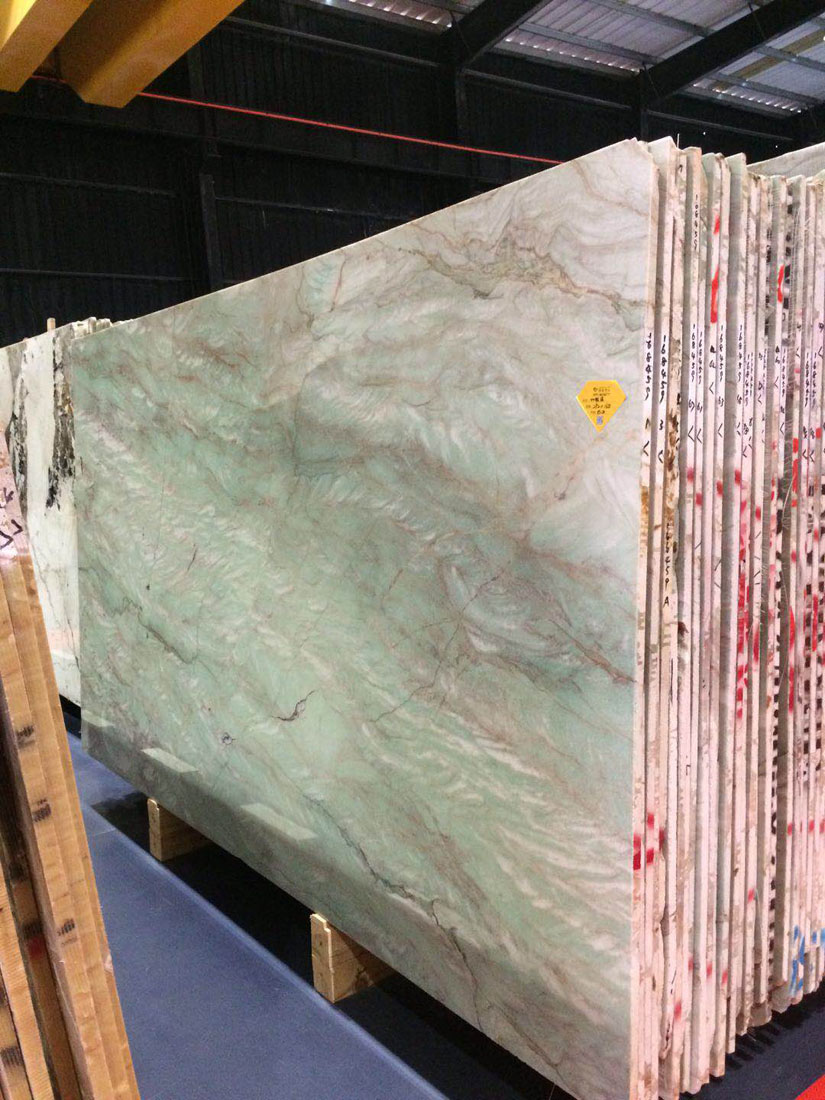 Jewelry Jasper Jade Green Quartzite Slabs