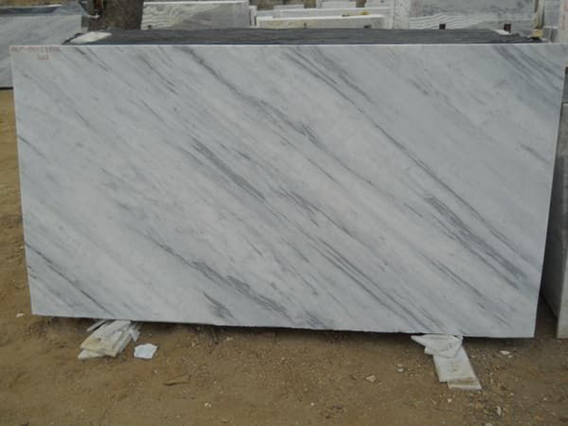 Jhanjhar White Marble Slabs Polished White Marble Stone Slabs