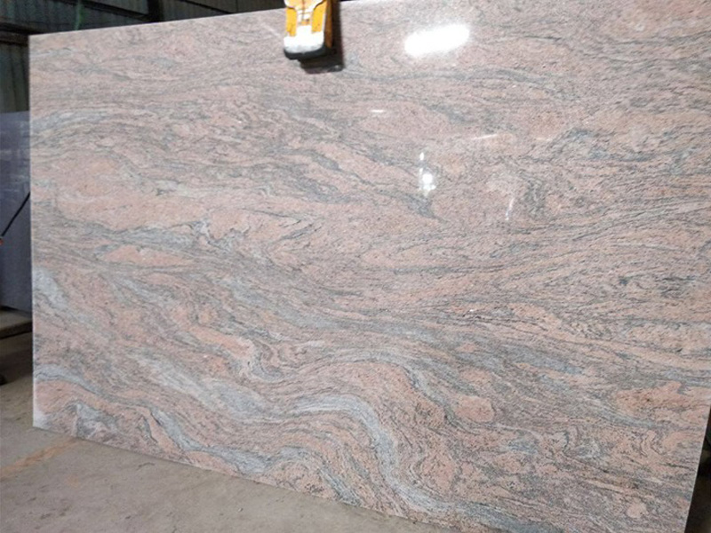 Juparana Polished Brown Granite Slabs