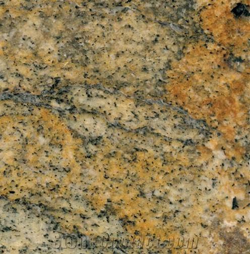 Juparana Golden Flame Granite