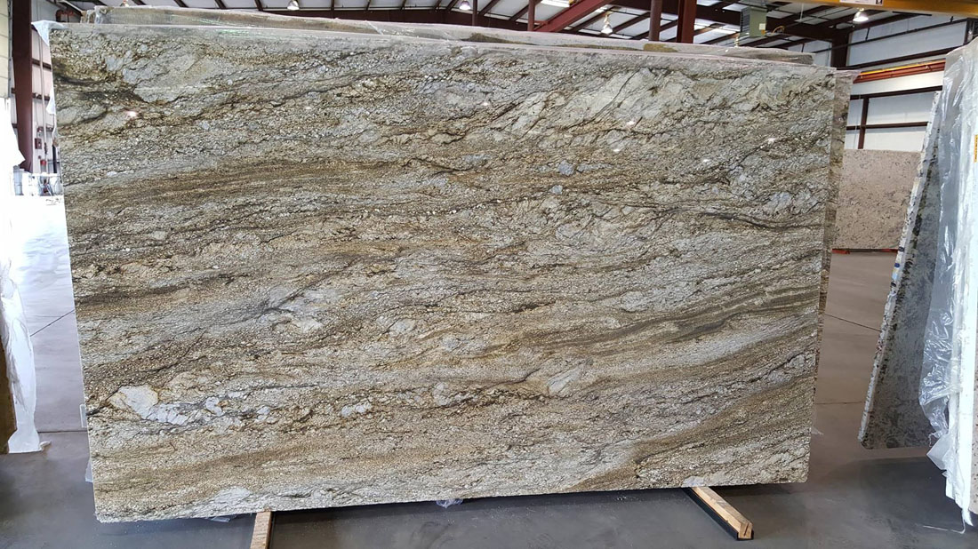 Jurassic Blue Granite Slabs Brazilian Granite for Countertops