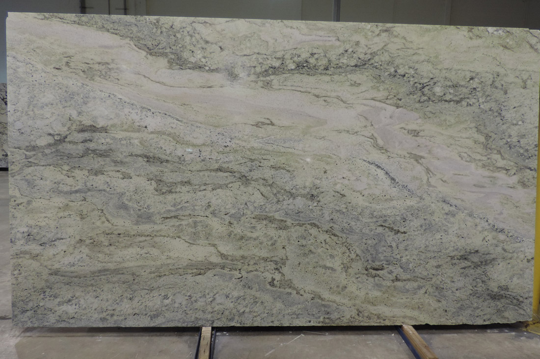 Jurassic Green Granite Slabs Polished Top Quality Stone Slabs