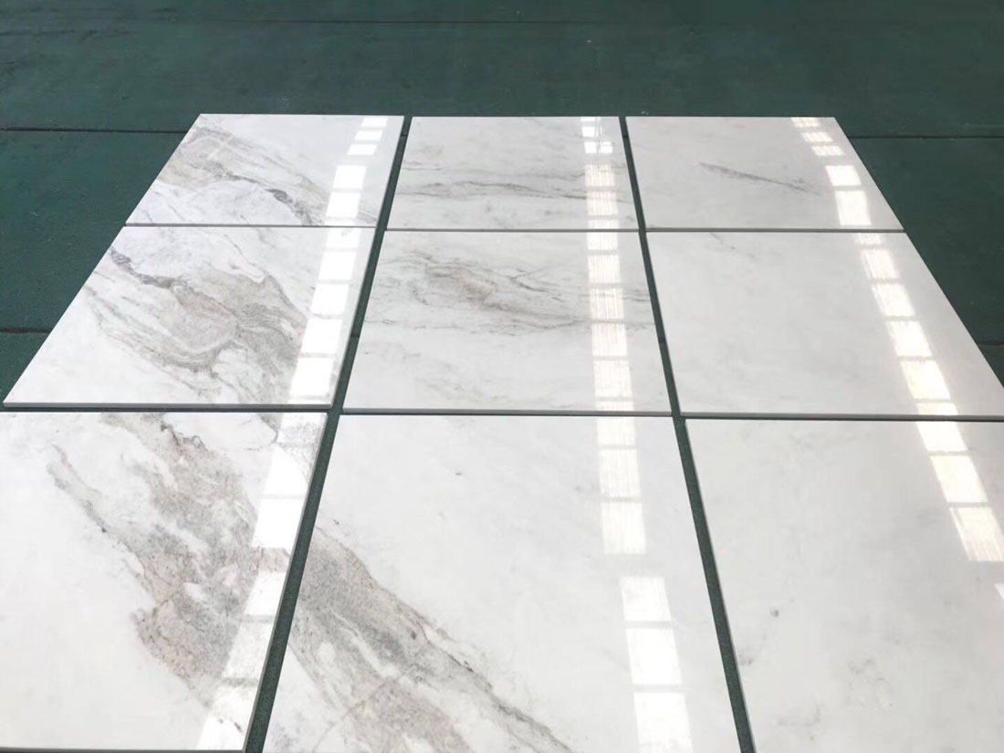 Kalta Bianco White Polished Marble Tiles