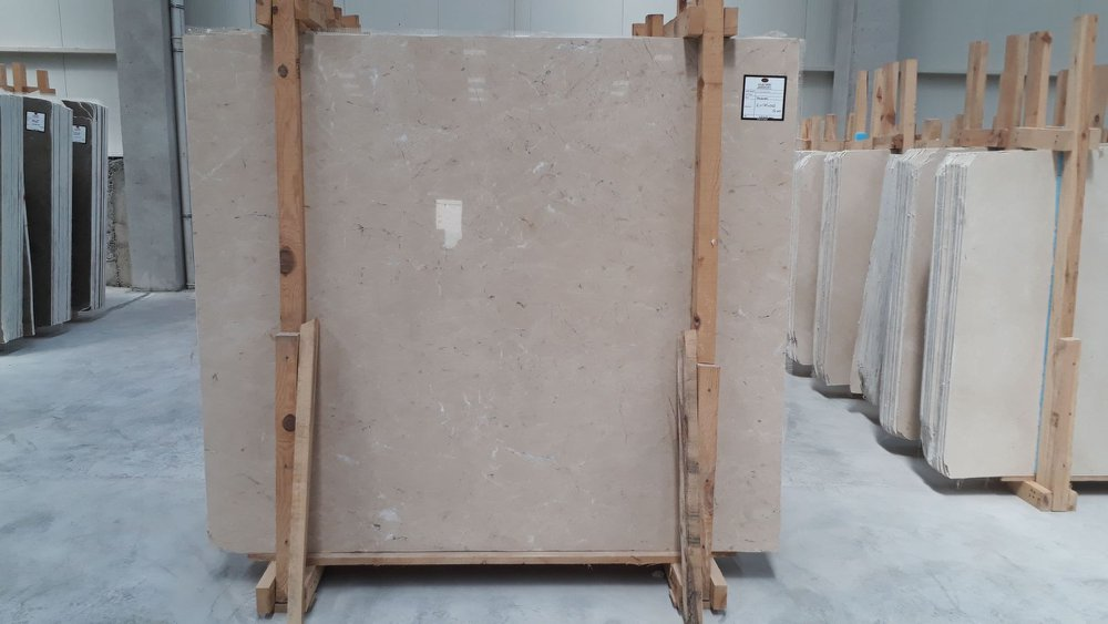 Kaman Beige Slabs Polished Beige Marble Slabs