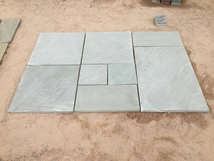 Kandla Grey Sandstone Paving Stone Tiles