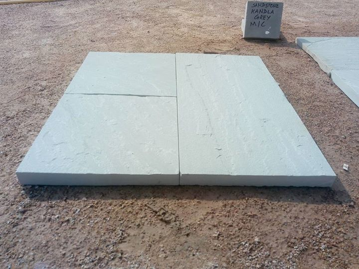 Kandla Grey Sandstone Paving Stone from India