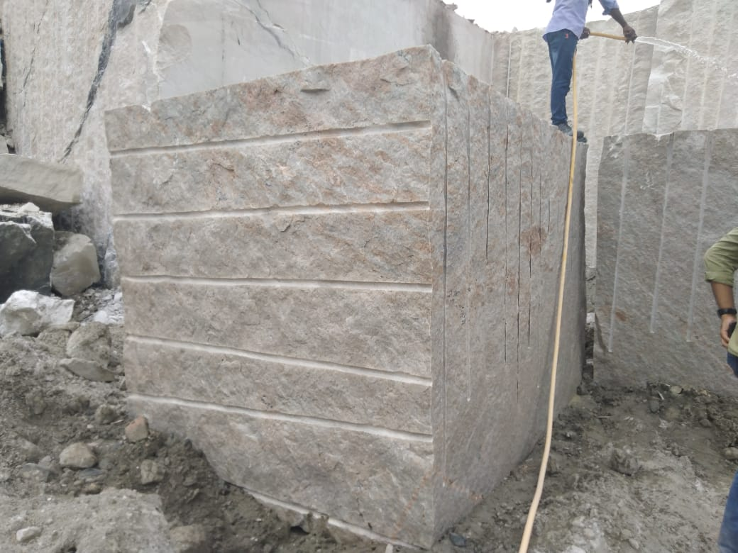 Kashmeer White Block Indian Natural Granite Blocks