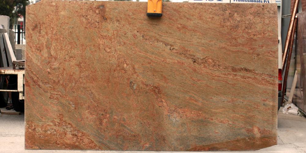 Kashmir Gold Granite Slab Competitive Indian Granite Slabs