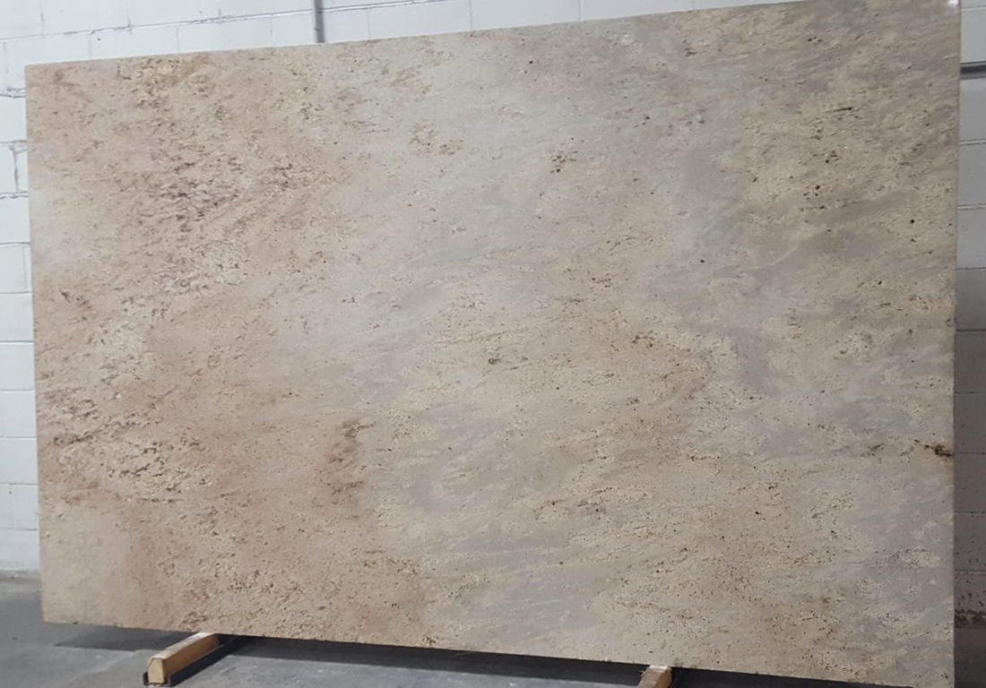 Kashmir Gold Granite Slab Indian Beige Granite Stone Slabs