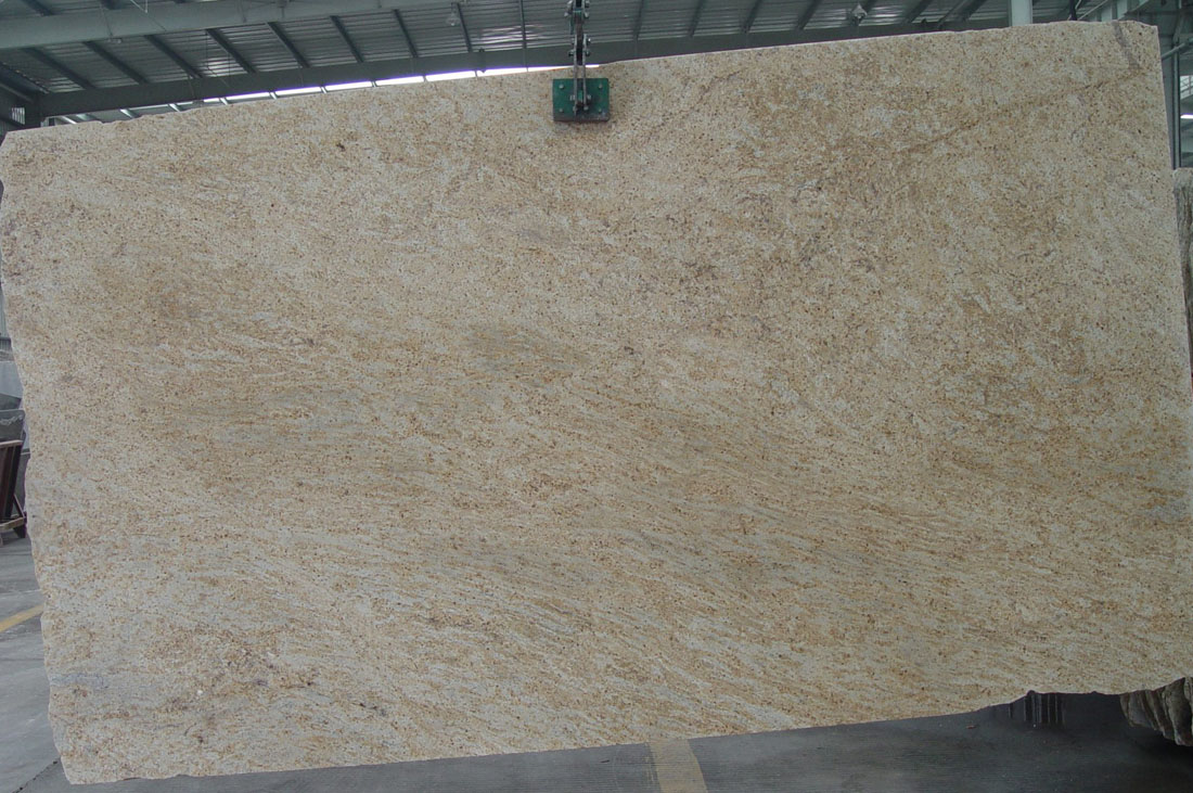 Kashmir Gold Granite Slab Polished Beige Granite Slabs
