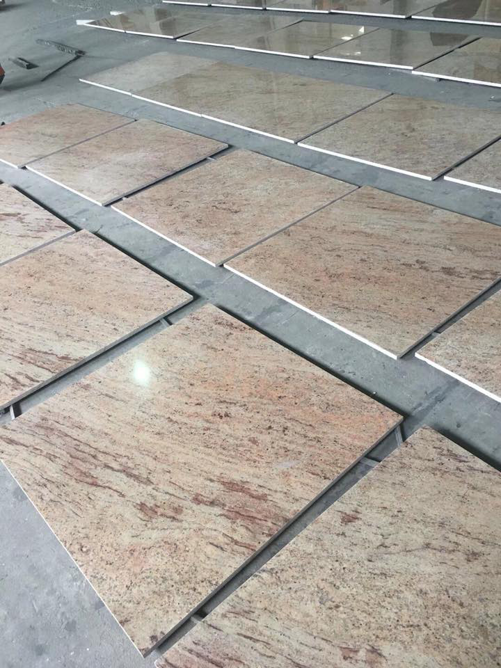 Kashmir Gold Granite Tiles Polished Granite Stone