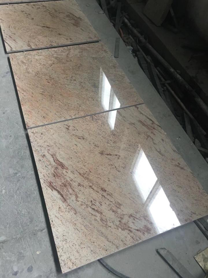 Kashmir Gold Granite Tiles Polished Granite