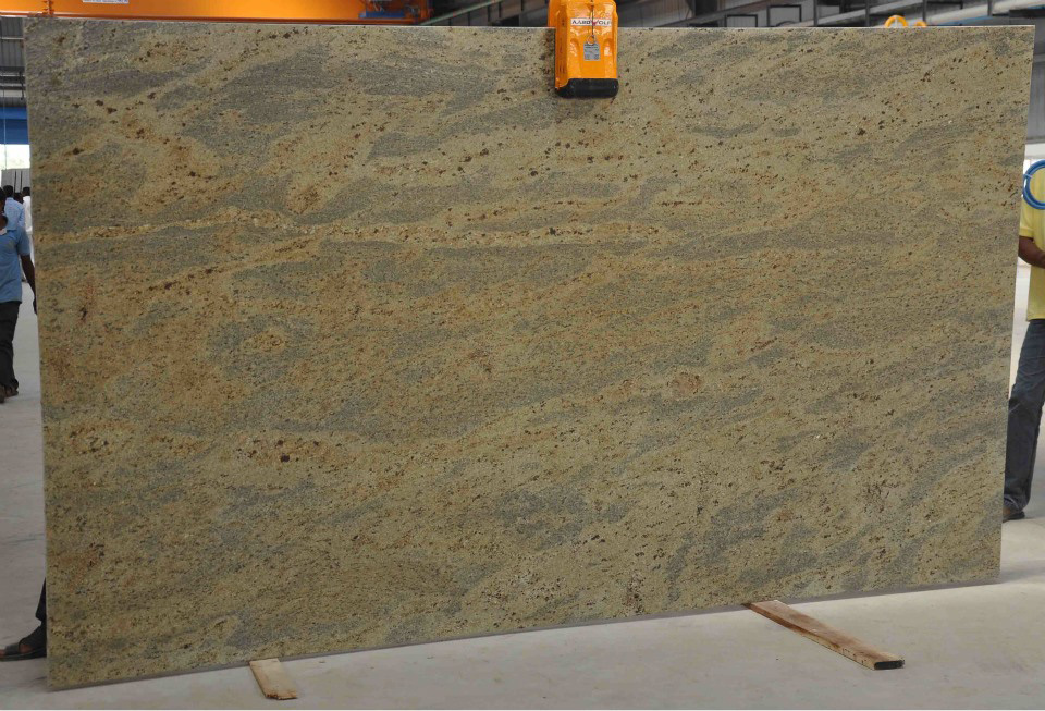 Kashmir Gold Slabs Polished Granite Slabs