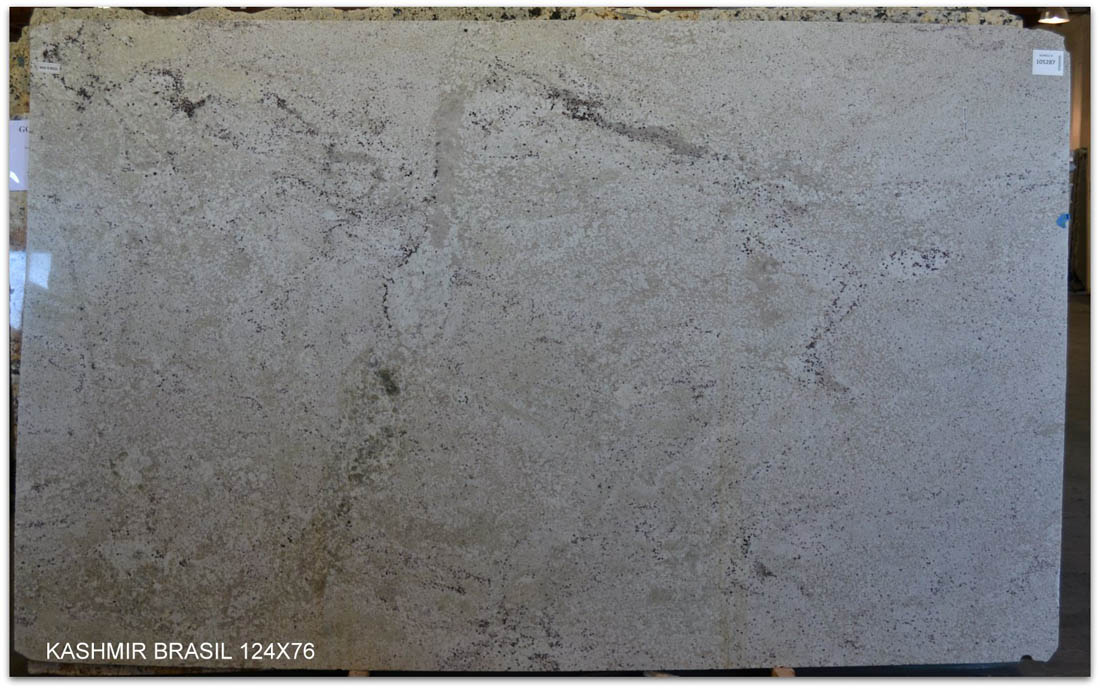 Kashmir White Brazil Granite Slabs