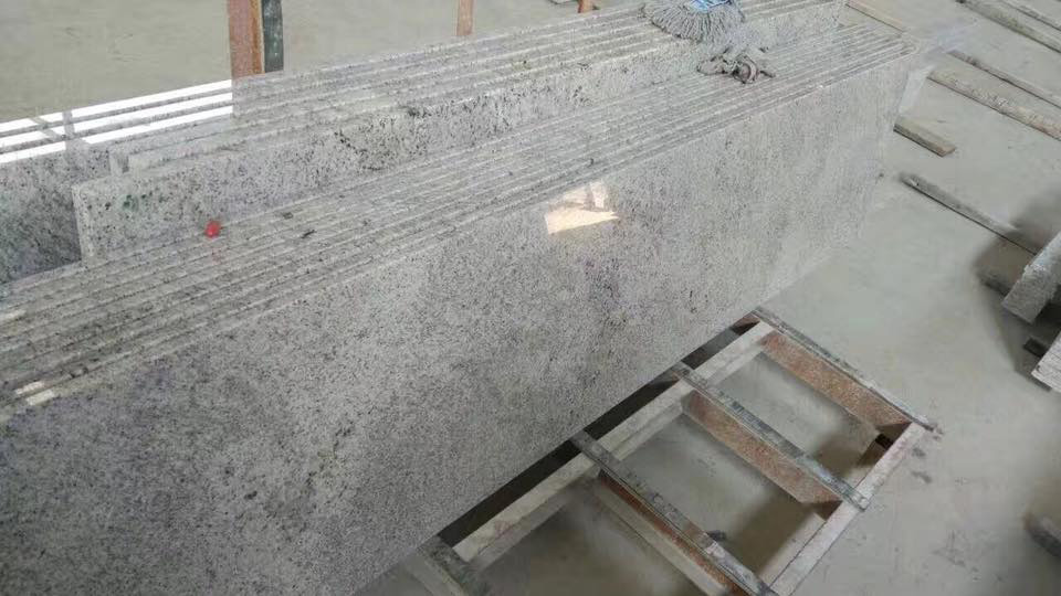 Kashmir White Granite Kitchen Countertops
