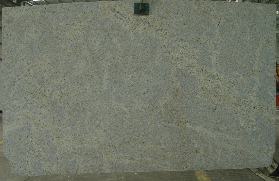Kashmir White Granite Slab Polished White Granite Slabs