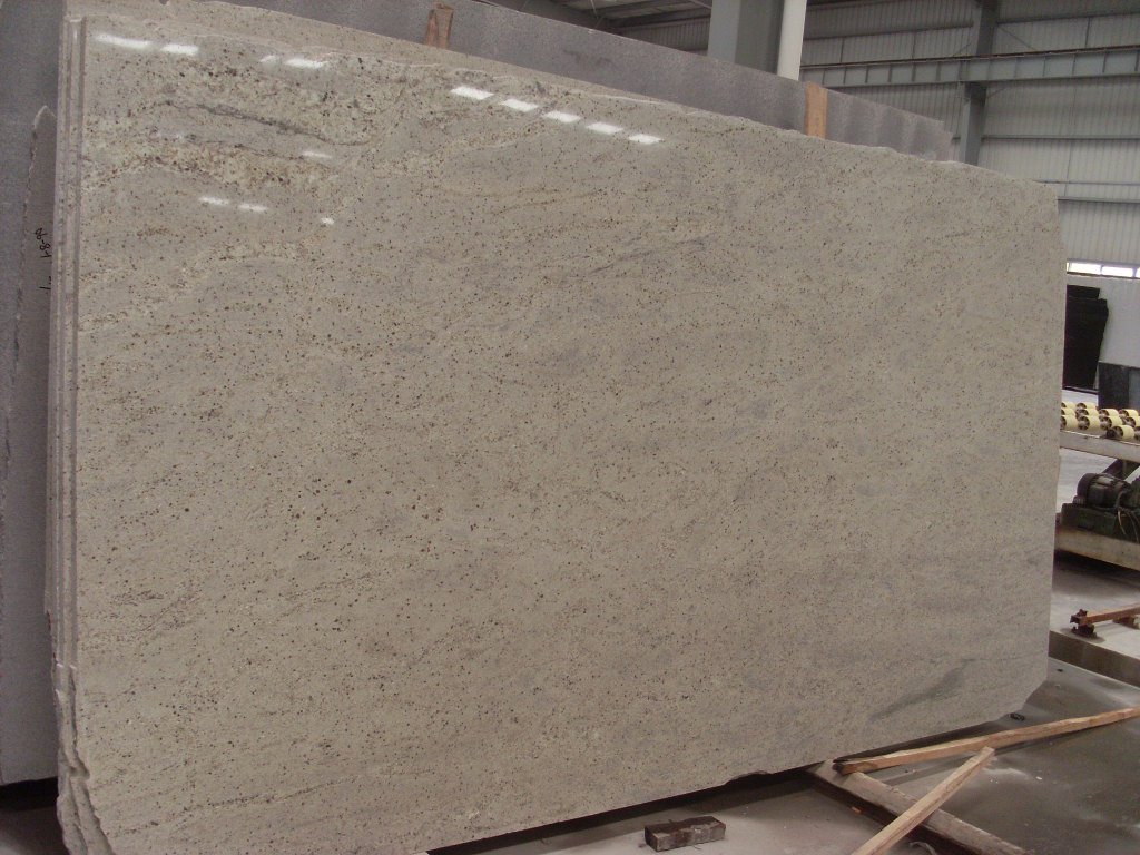 Kashmir White Granite Slab White Polished Granite Slabs