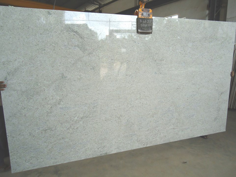Kashmir White Granite Slab from Chinese Supplier