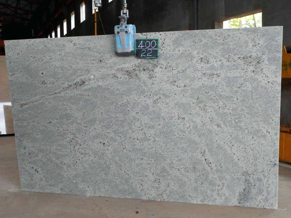 Kashmir White Granite White Granite Polished Slab