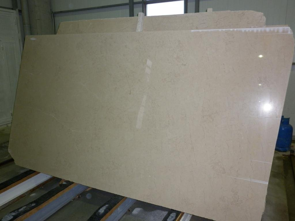 Kazan Beige Marble Slabs Polished Marble Slabs