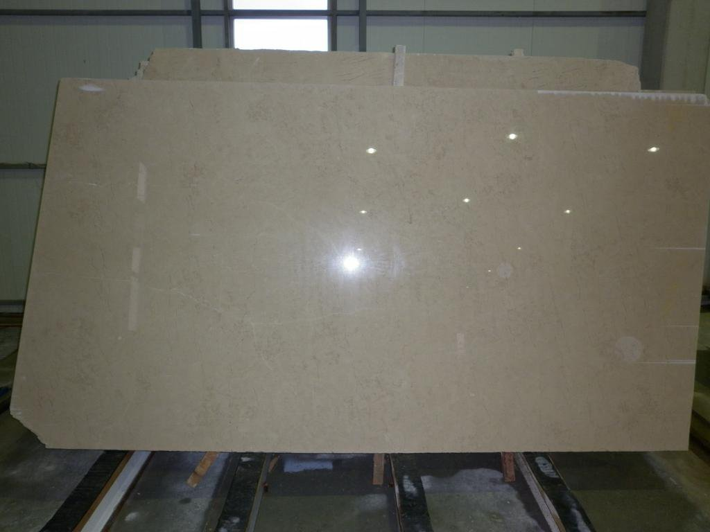Kazan Beige Slabs Polished Beige Marble Slabs
