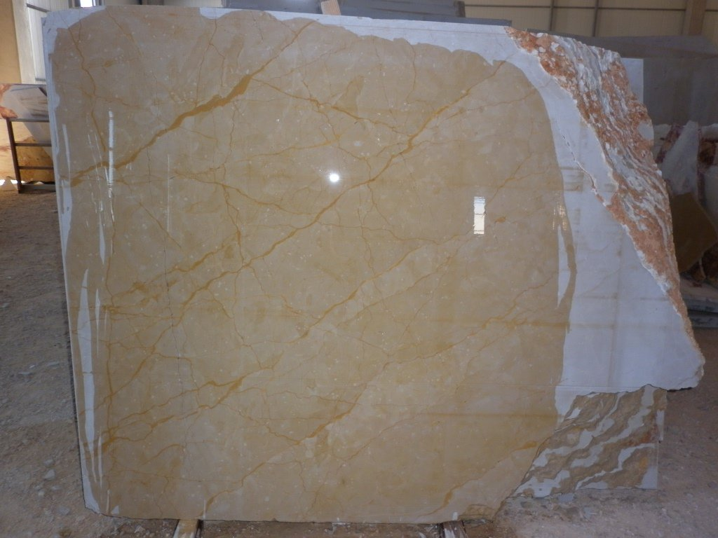 Kazan Gold Marble Blocks Yellow Marble Blocks from Turkey