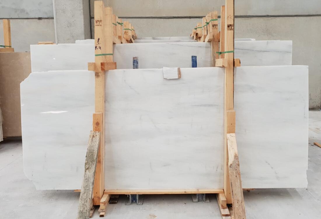 Kemalpasa White Marble Slabs Turkish White Marble Stone Slabs