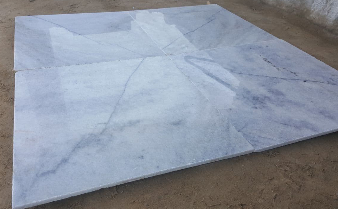 Kumari Marble Polished Tiles Indian White Marble Flooring Stone Tiles