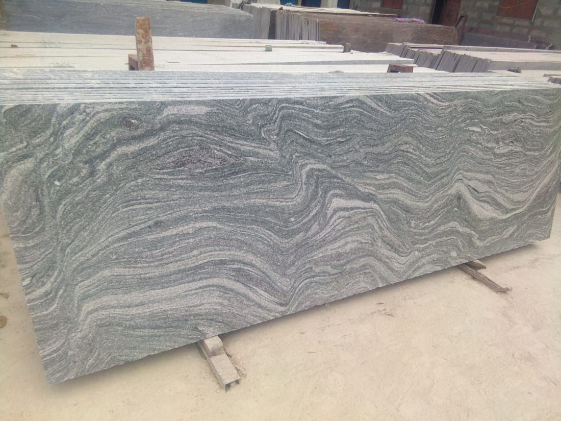 Kuppam Green Granite Indian Granite Countertops for Kitchen
