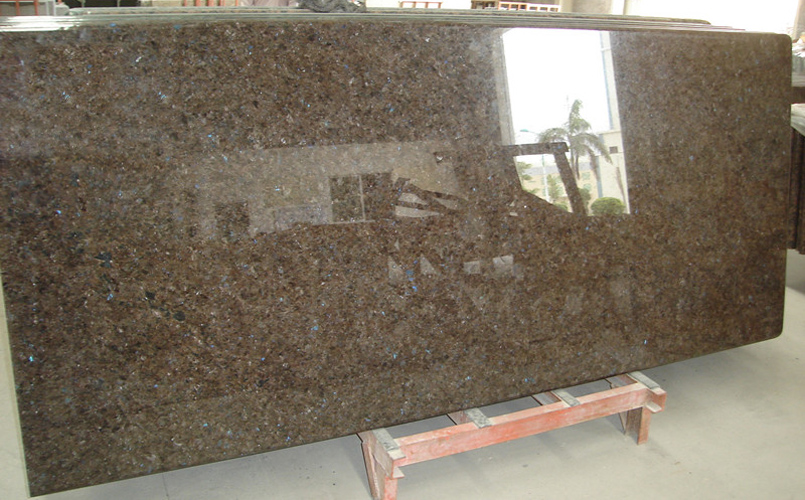 Labrador Antique Granite Countertops Polished Brown Granite Countertops