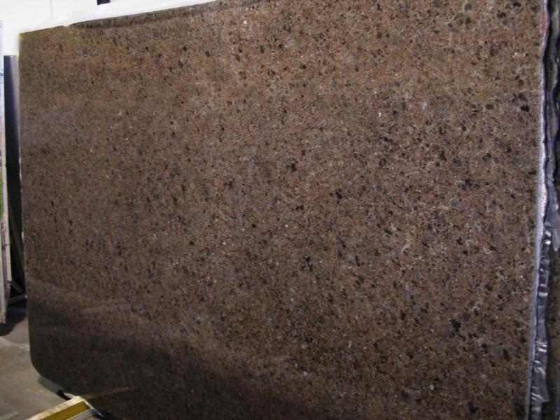 Labrador Antique Polished Granite Slabs Polished Brown Granite Slabs