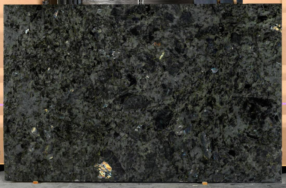 Labradorite Blue Granite Slabs Polished Granite Slabs for Countertops