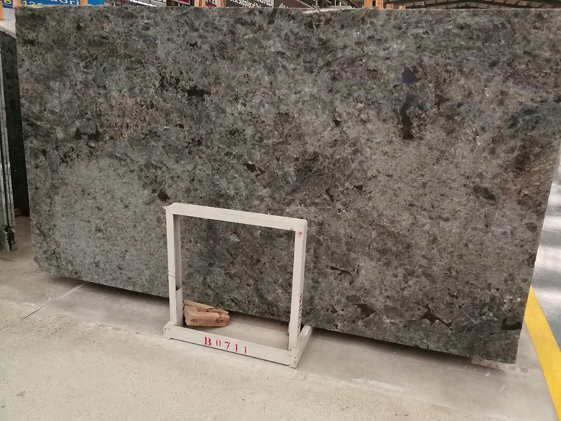 Labradorite Granite Slabs Polished Granite Stone Slabs for Countertops