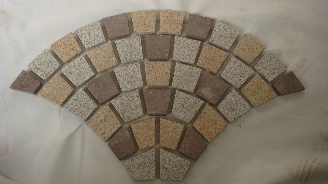 Landscaping Granite Cube Stones